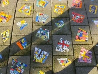 Mozaiekvloer