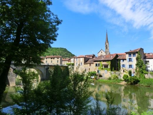 Bij de rivier de Aveyron