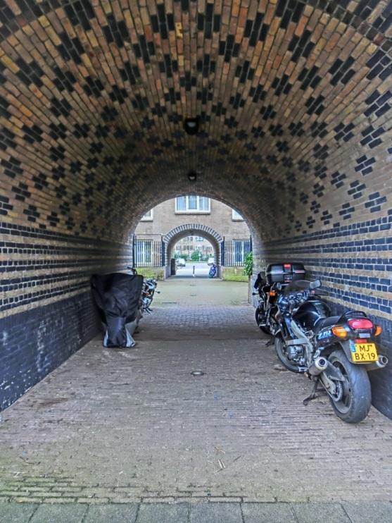 Poortje naar het Zaanhof