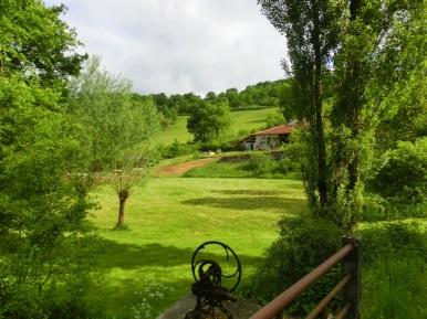 Uitzicht op Les Quatre Toits