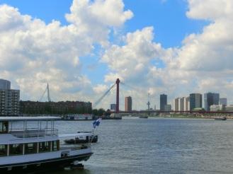 De Zwaan en de Willemsbrug