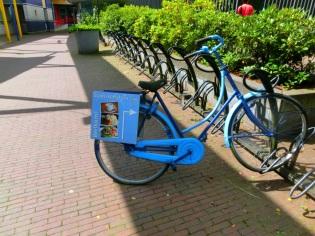 Stads koffyhuis fiets