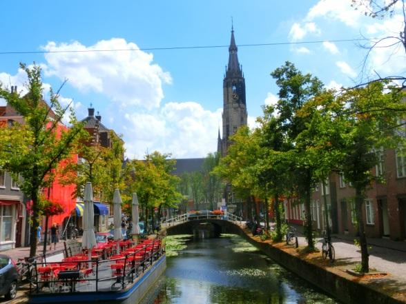 Zicht op Delft