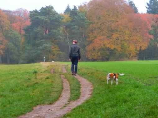 beagle-met-baasje