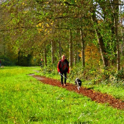 een-wandelaar-met-een-hond