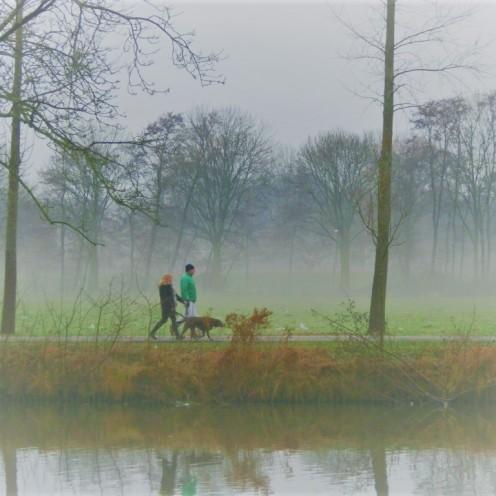 wandelaars-in-de-mist