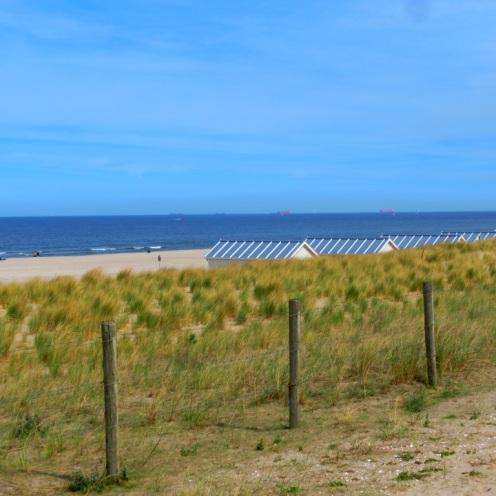Strand bij Kijkduin