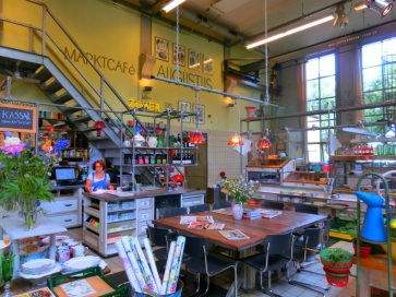 Bakkerij en café Villa Augustus