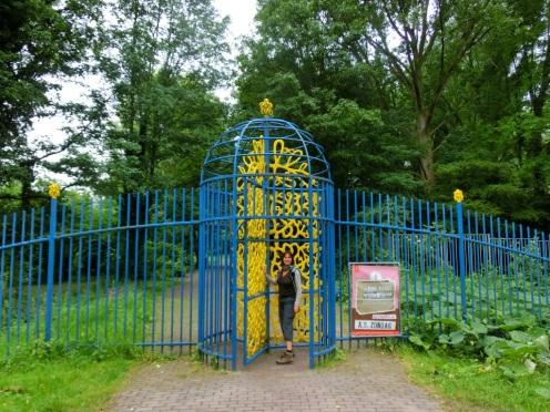 Ingang Amstelpark