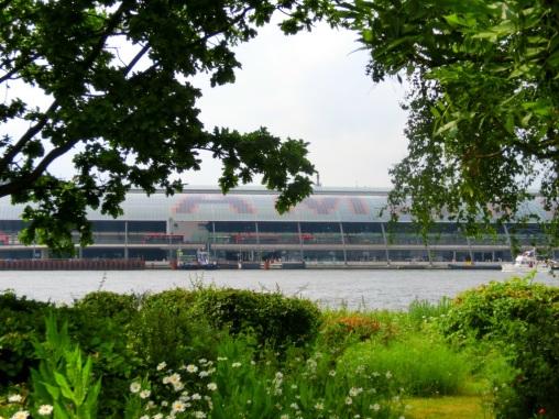 Uitzicht op Amsterdam Centraal