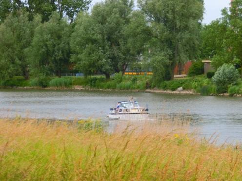 Varen over de rivier