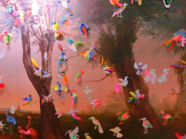 Vogels in de kinderhoek