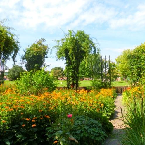 Bloeiende tuin Kasterlee Park