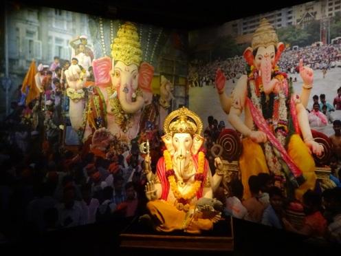 Ganesha de god met het olifantenhoofd