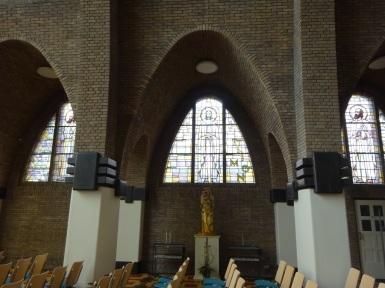 Kerk in Amsterdam School Stijl
