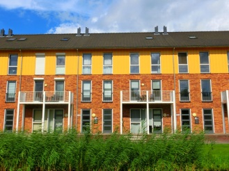 Kleurijke woningen