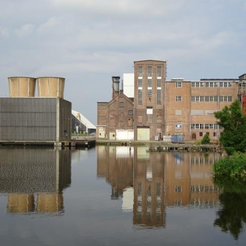 Oude suikerfabriek