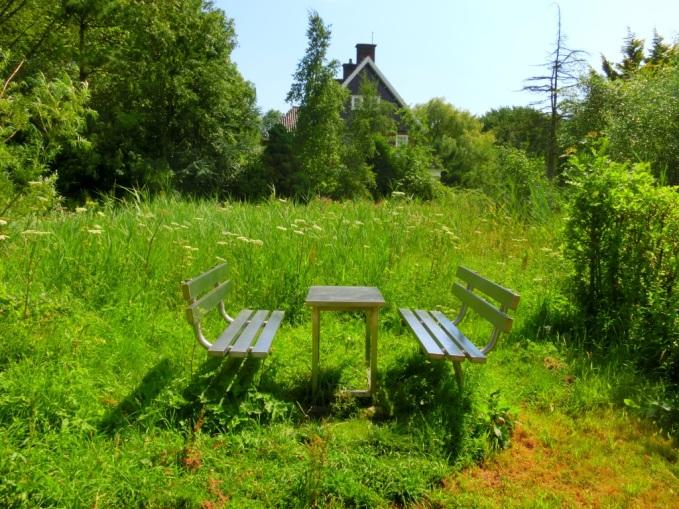 Wandelbankje Siegerpark