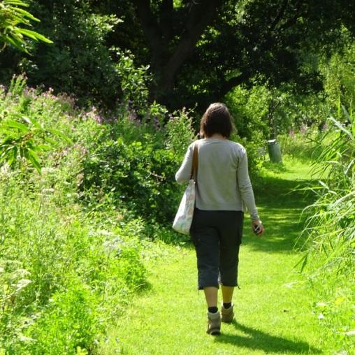 Wandelen door het Siegerpark