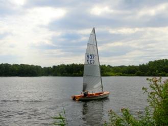 Zeilen op het meer