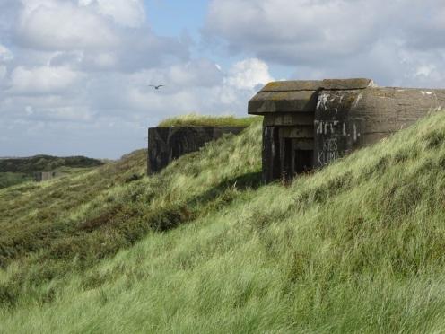 Bunkers bij Scheveningen