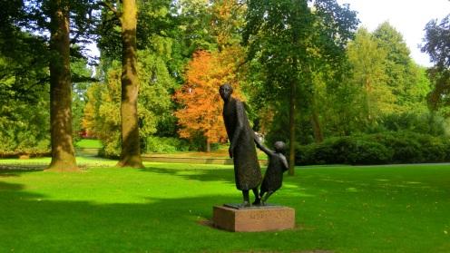 Beelden stadspark het Valkenberg