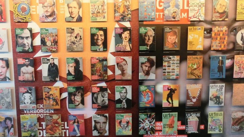 Covers 10 jaar Uitagenda Rotterdam