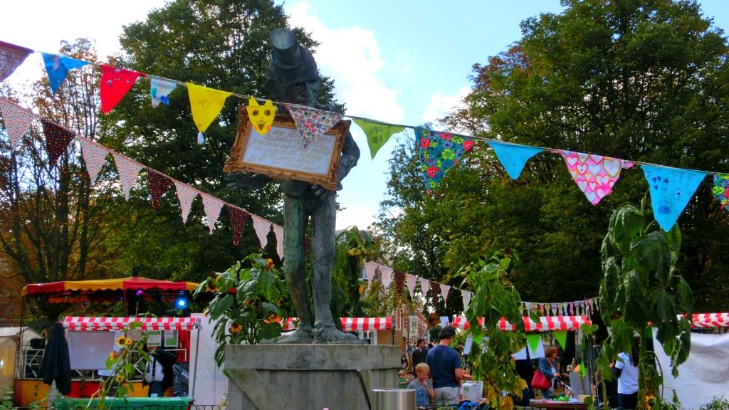 Circus op het Koningsplein