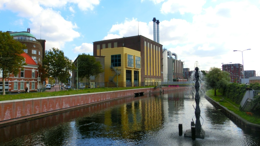 De oude gasfabriek van Schadee