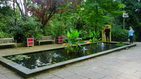 Ingang Botanische Tuin