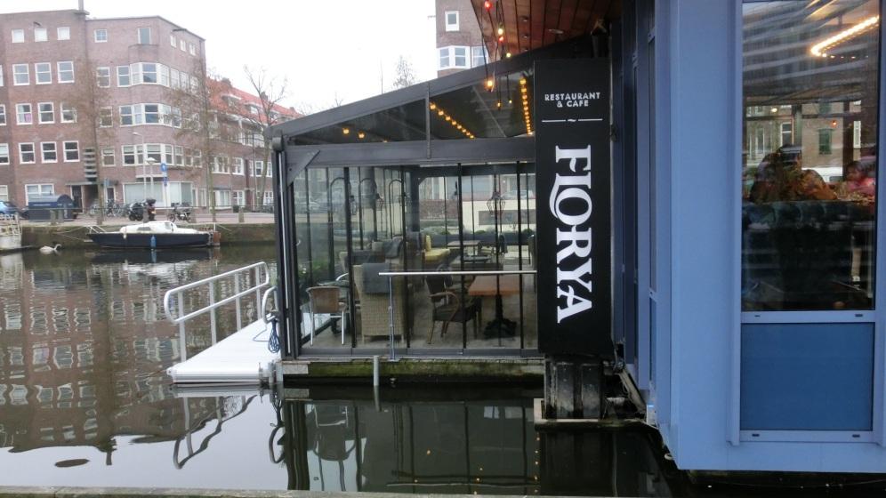 Restaurant op het water