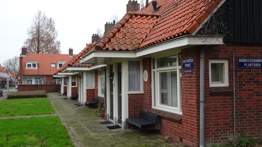 Arbeidershuisjes Tuindorp Nieuwendam