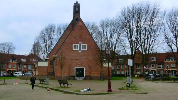 Bethlehemkerk in Amsterdamse School stijl
