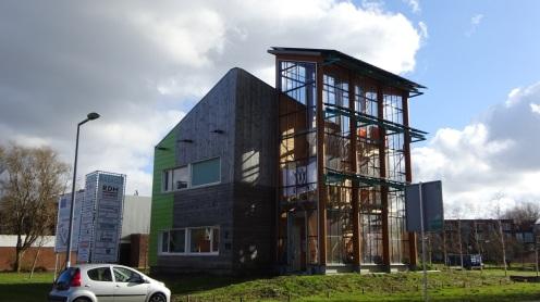 Huis met duurzaamheidsprijs