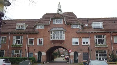 Huizen in verschillende stijlen in de Vogelwijk