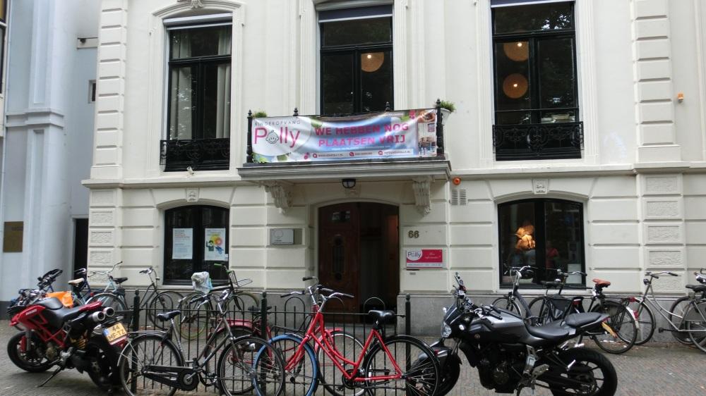 Pand waarin de Nederlandse SS in huisde