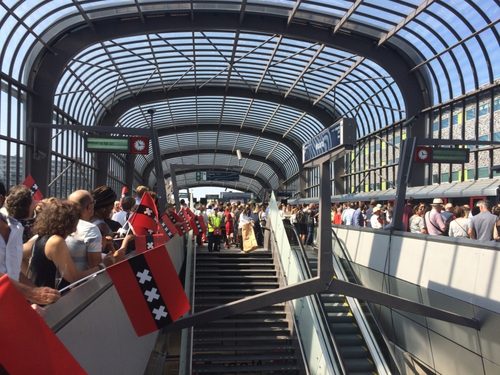 Aankomst Metro 52
