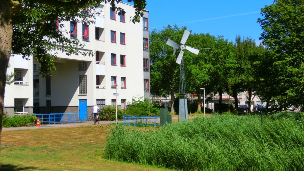 Bijzondere architectuur in de Stevenshof