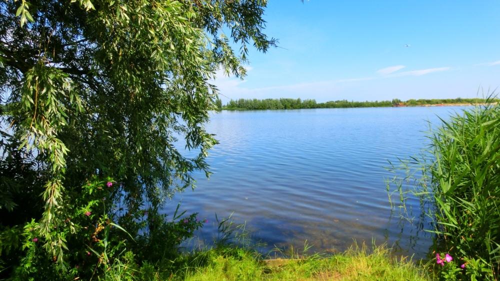 Doorkijk Valkenburgse meer