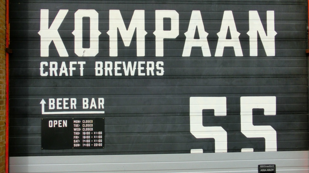 Bierbrouwer Kompaan