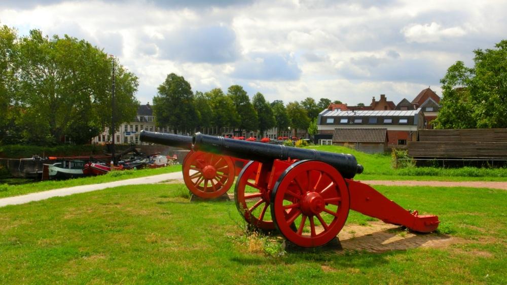 Kanonnen vestingwal Gorinchem