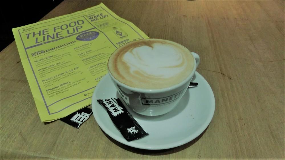 Koffiedrinken bij Rotown