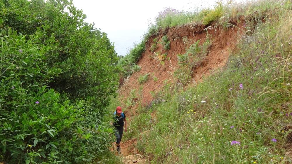 Klim naar boven op de Sentiero del Nemico