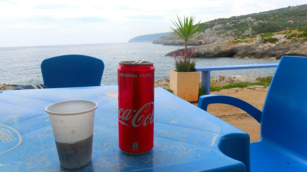 Verfrissende cola