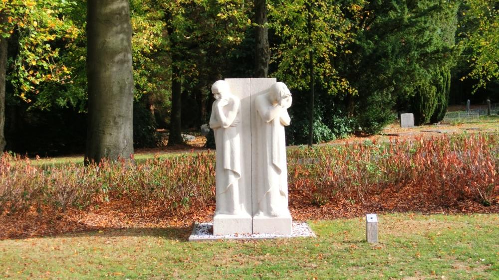 Beeld begraafplaats Moscowa