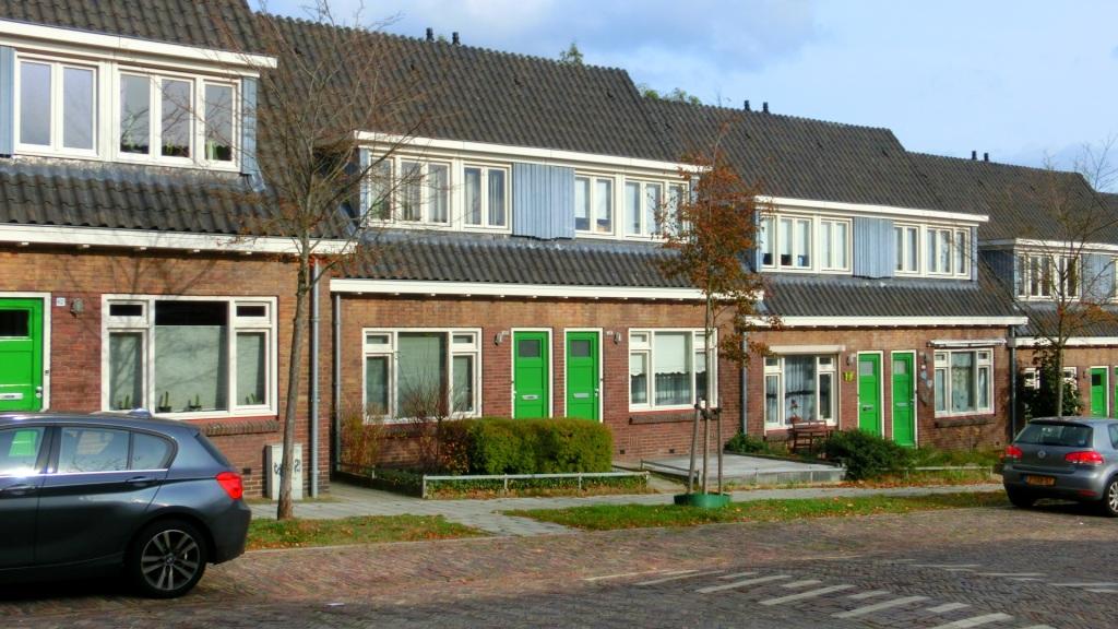 Huizen met groene deuren Geitenkamp