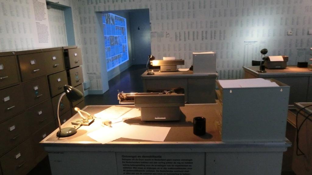 Kantoorinrichting registratie Museum Bronbeek