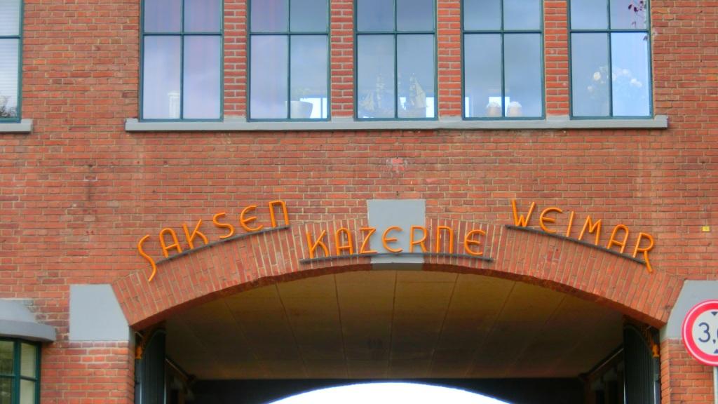 Saksen Weimar kazerne