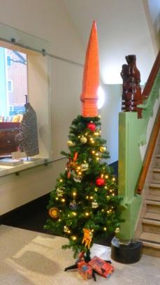 Kerstboom Museum het Schip