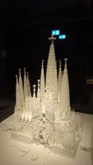 Maquette Sagrada Familia